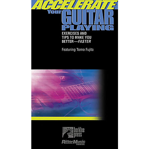 Hal Leonard Accelerate Your Guitar Playing Video