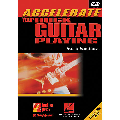 Hal Leonard Accelerate Your Rock Guitar Playing DVD
