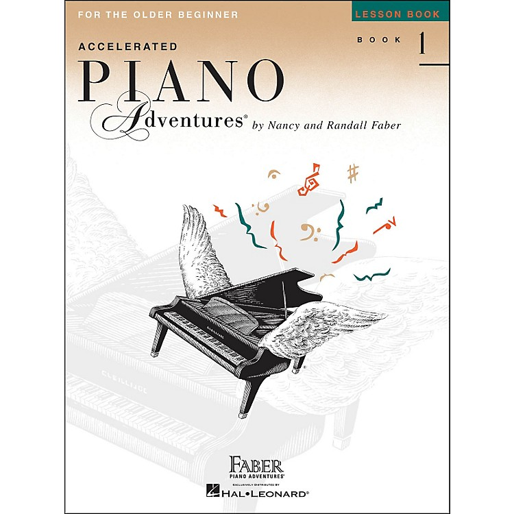 Faber Music Accelerated Piano Adventures Lesson Book - Book 1 For The Older Beginner