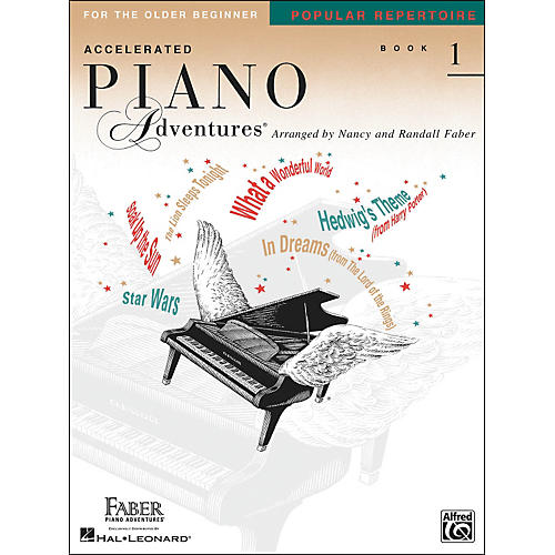 Faber Piano Adventures Accelerated Piano Adventures Pop Repertoire Book1 - Faber Piano-thumbnail