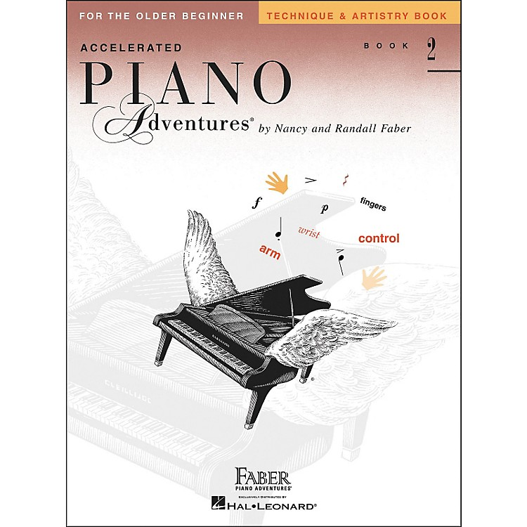 Faber Music Accelerated Piano Adventures Technique & Artistry Book 2 for The Older Beginner - Faber Piano