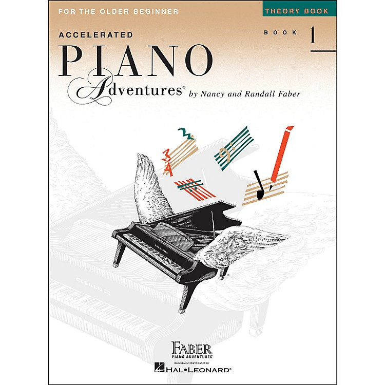 Faber Music Accelerated Piano Adventures Theory Book 1 For The Older Beginner