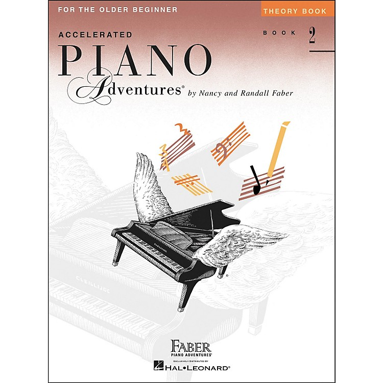 Faber Music Accelerated Piano Adventures Theory Book for The Older Beginner Book 2 - Faber Piano