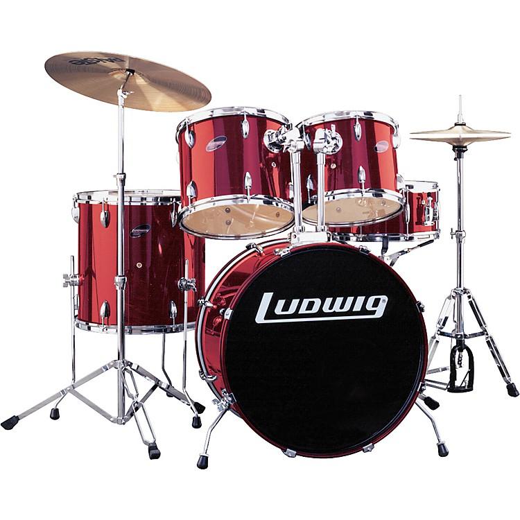 LudwigAccent 5-Piece Combo Drum Set