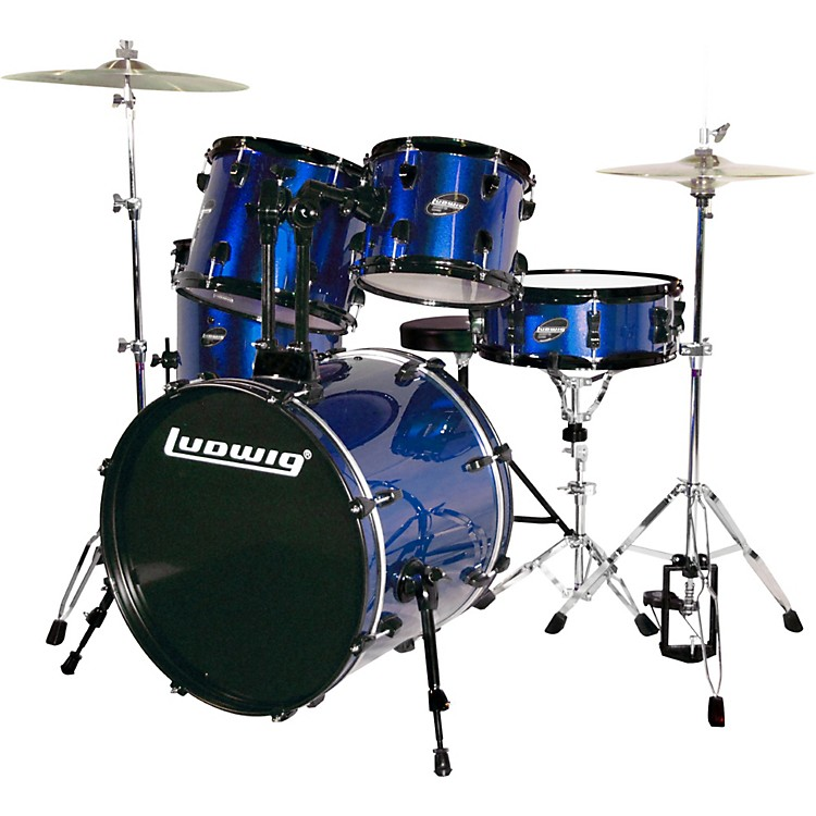 LudwigAccent CS Combo Exclusive DrumsetBlue