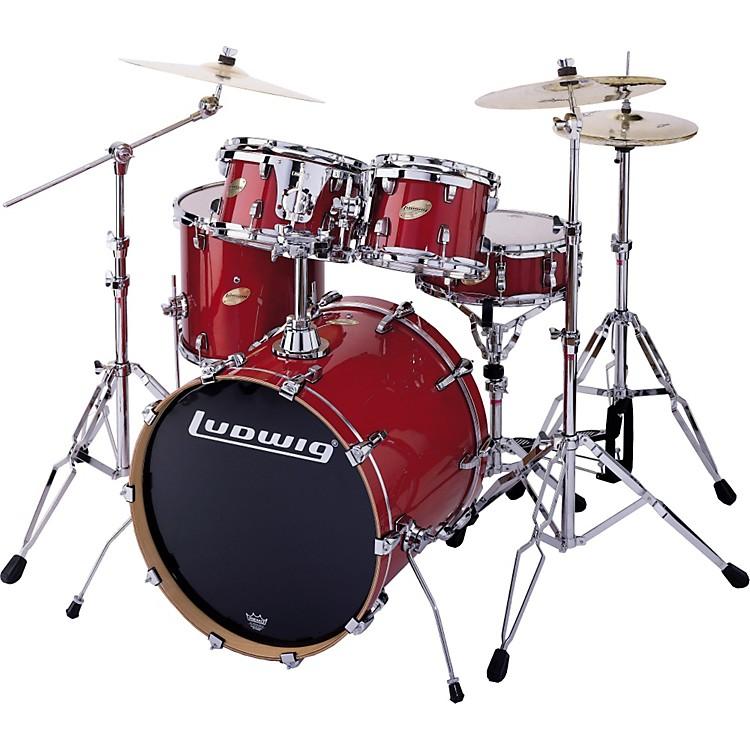 Ludwig Accent CS Custom Elite Drum Set Review