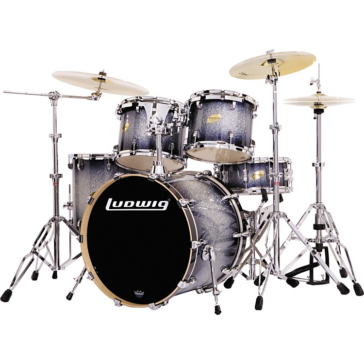 Ludwig Accent CS Custom Elite Power 5-Piece Glitter Drum Set