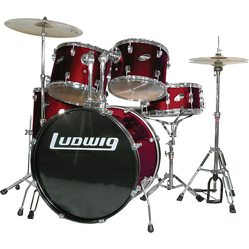 Ludwig Accent Combo 5-piece Drum Set