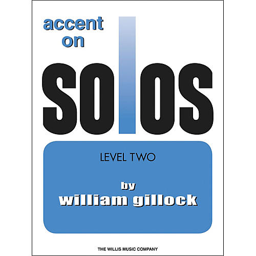 Willis Music Accent On Solos Level 2