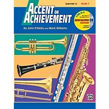 Alfred Accent on Achievement Book 1 Baritone T.C. Book & CD