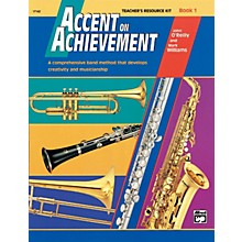Alfred Accent on Achievement, Book 1 Teacher's Resource Kit with CD