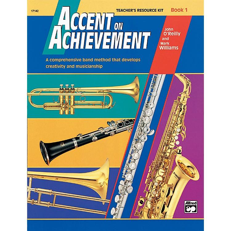 AlfredAccent on Achievement, Book 1 Teacher's Resource Kit with CD