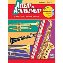Alfred Accent on Achievement Book 2 B-Flat Clarinet Book & CD