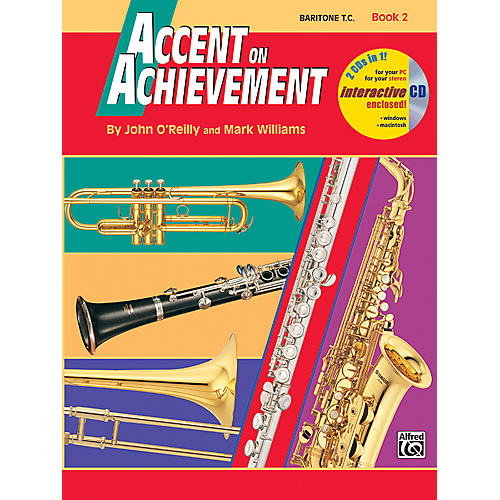 Alfred Accent on Achievement Book 2 Baritone T.C. Book & CD