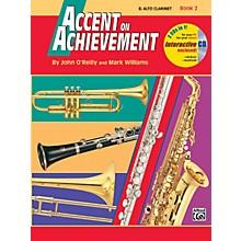 Alfred Accent on Achievement Book 2 E-Flat Alto Clarinet Book & CD