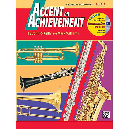 Alfred Accent on Achievement Book 2 E-Flat Baritone Saxophone Book & CD