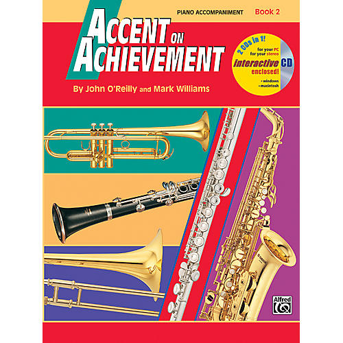 Alfred Accent on Achievement Book 2 Piano Accompaniment