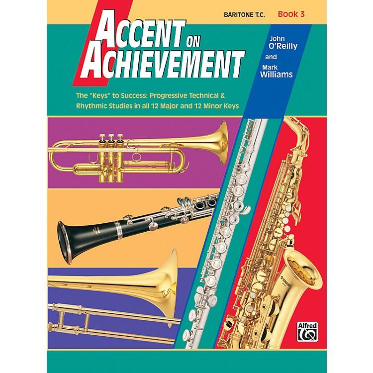 AlfredAccent on Achievement Book 3 Baritone T.C.