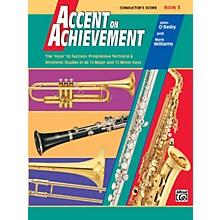 Alfred Accent on Achievement Book 3 Conductor's Score