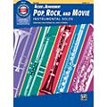 BELWIN Accent on Achievement Pop, Rock, and Movie Instrumental Solos Clarinet Book & CD