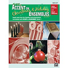 Alfred Accent on Christmas and Holiday Ensembles Horn in F