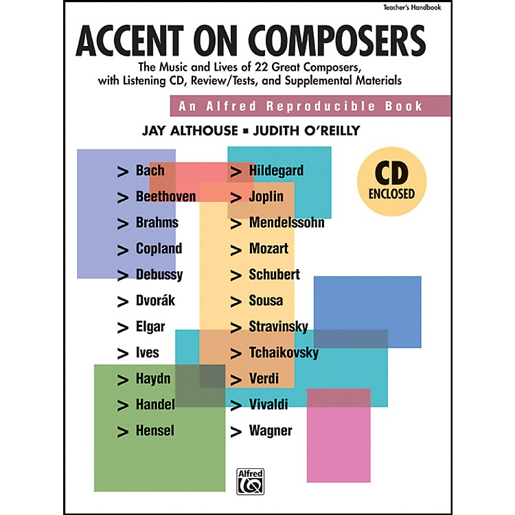 AlfredAccent on Composers Book/CD