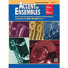 Alfred Accent on Ensembles Book 1 E-Flat Alto Sax Baritone Sax