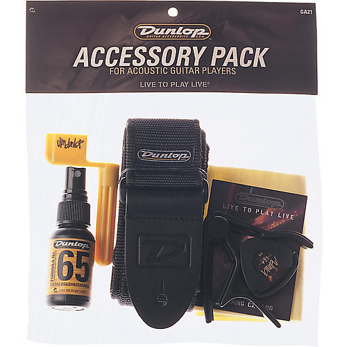 Dunlop Accessory Pack for Acoustic Guitars-thumbnail