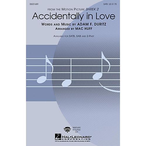 Hal Leonard Accidentally in Love ShowTrax CD Arranged by Mac Huff-thumbnail