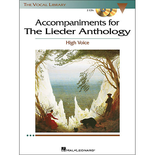 Hal Leonard Accompaniments for The Lieder Anthology for High Voice 2CD's-thumbnail