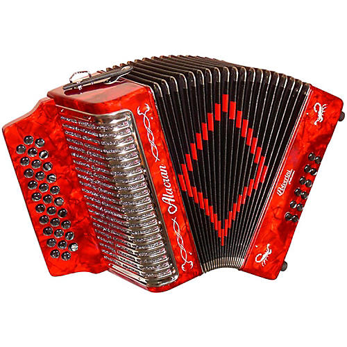 Alacran Accordion AL3112 Red with Case