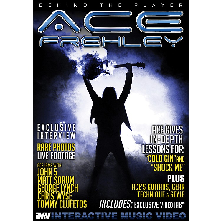 IMVAce Frehley Behind the Player DVD