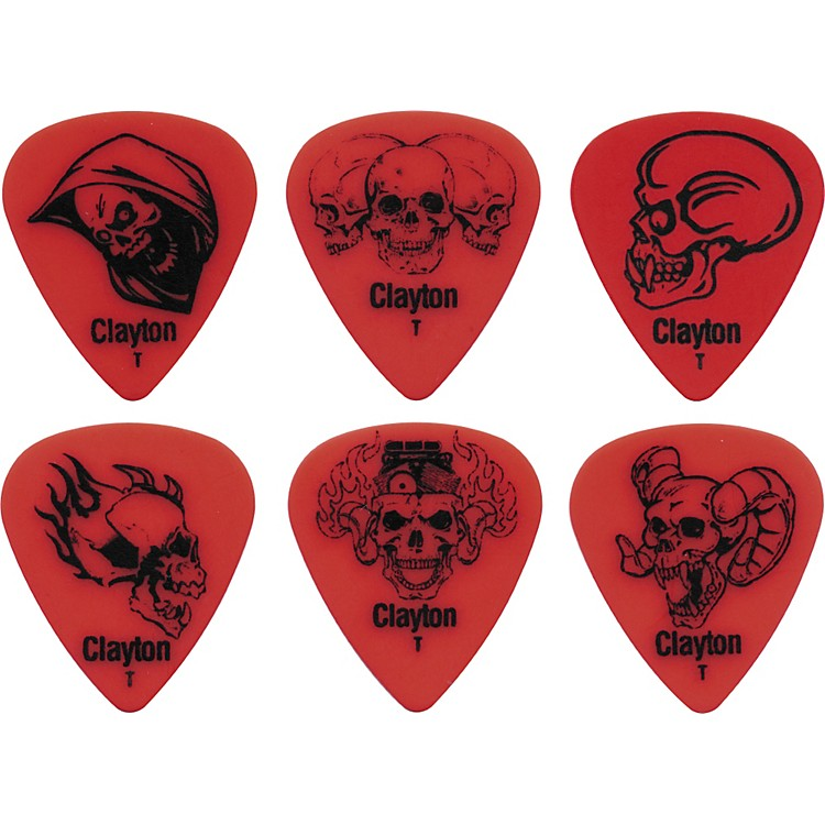 ClaytonAcetal Demonic Guitar PicksBlueHeavy