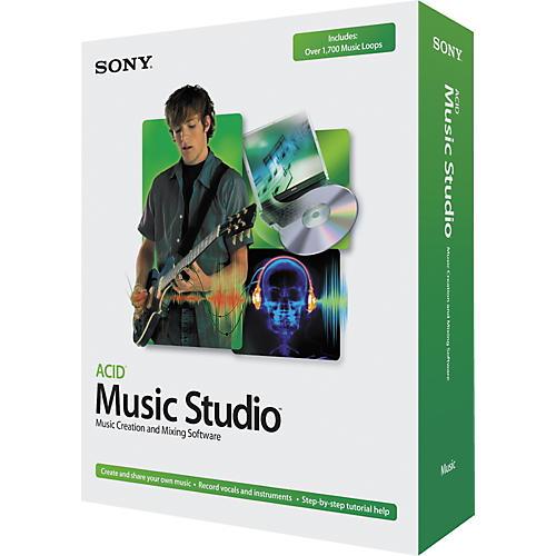 Sony Acid Music Studio 6 Software