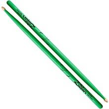 Zildjian Acorn Tip Neon Green Drumsticks