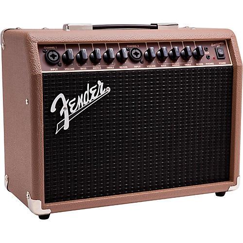 fender acoustasonic 40 40w 2x6 5 acoustic guitar amplifier brown musician 39 s friend. Black Bedroom Furniture Sets. Home Design Ideas