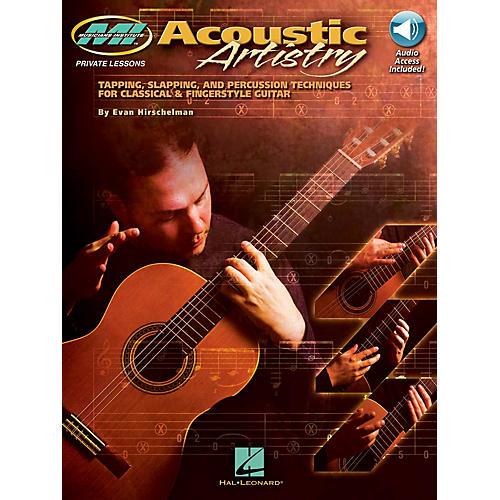 Musicians Institute Acoustic Artistry Musicians Institute Press Series Softcover Audio Online Written by Evan Hirschelman-thumbnail