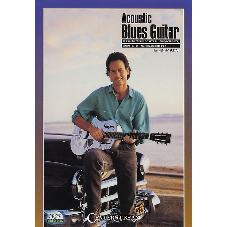 Centerstream Publishing Acoustic Blues Guitar DVD