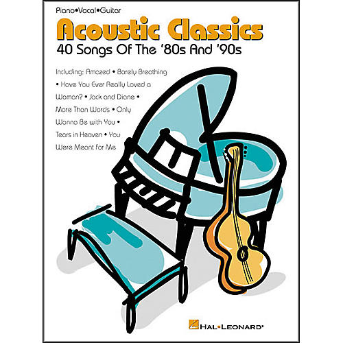 Hal Leonard Acoustic Classics '80s and '90s Songbook-thumbnail