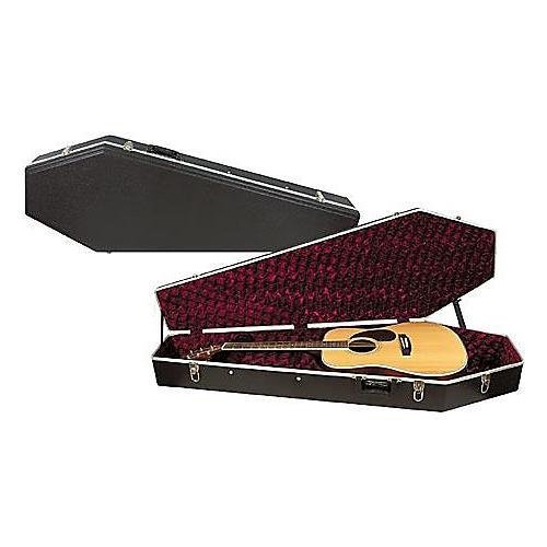 Coffin Case Acoustic Dreadnought Case-thumbnail