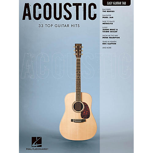 Hal Leonard Acoustic (Easy Guitar with Notes & Tab) Easy Guitar Series Softcover Performed by Various-thumbnail