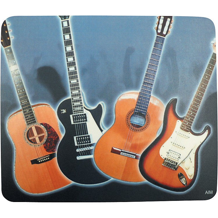 AIM Acoustic/Electric Guitars Mousepad