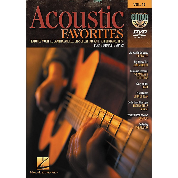 Hal Leonard Acoustic Favorites - Guitar Play-Along DVD Volume 17