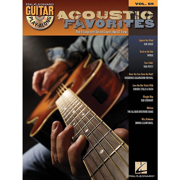 Hal LeonardAcoustic Favorites - Guitar Play-Along Series Volume 69 Book and CD