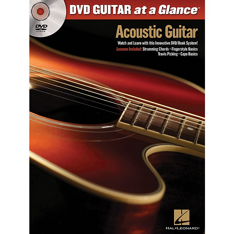 Hal LeonardAcoustic Guitar - At a Glance Series Book and DVD