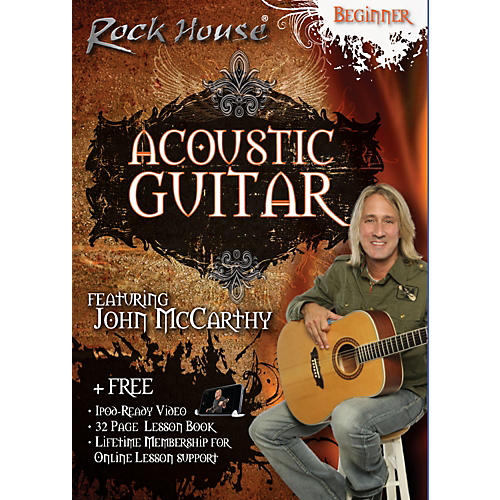 Rock House Acoustic Guitar Beginner DVD