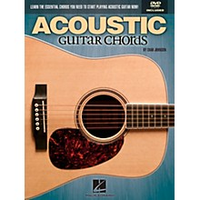 Hal Leonard Acoustic Guitar Chords Learn the Essential You Need Book & DVD