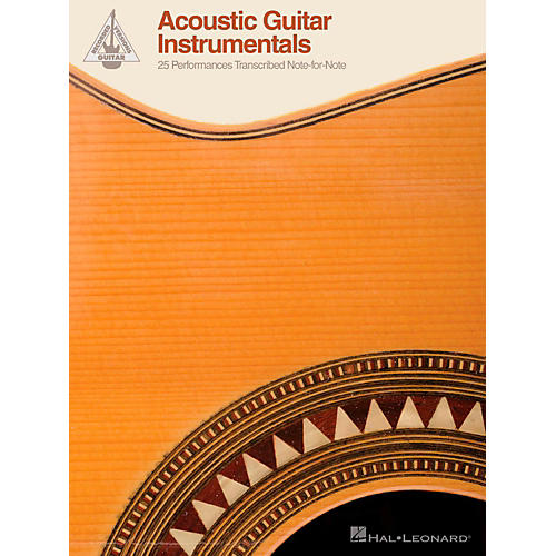 Hal Leonard Acoustic Guitar Instrumentals - 25 Performances Transcribed Note-For-Note