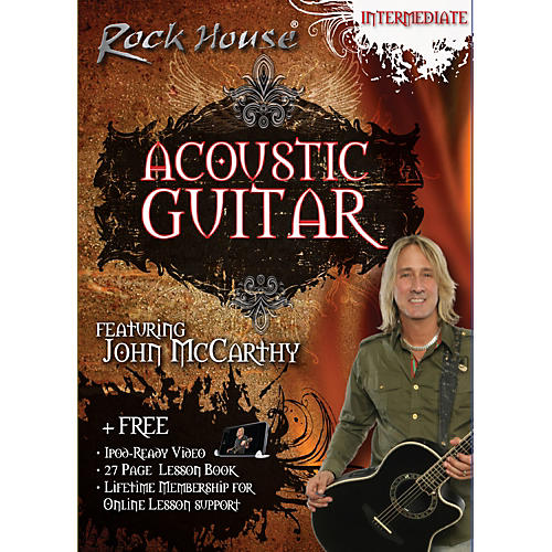Rock House Acoustic Guitar Intermediate DVD