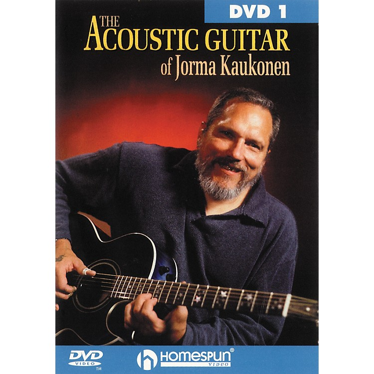 HomespunAcoustic Guitar Jorma Kaukonen 1 (DVD)